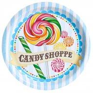 8 Assiettes Candy Shoppe