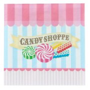 20 Serviettes Candy Shoppe