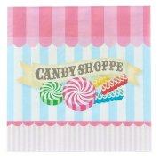 20 Serviettes Candy Shoppe