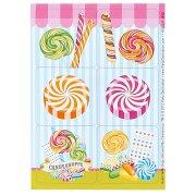 4 Planches de Stickers Candy Shoppe