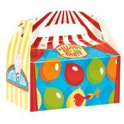 4 Boîtes Cadeaux Carnaval Circus