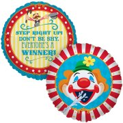 Ballon Mylar Carnaval Circus