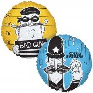 Ballon Mylar Policiers et Voleurs