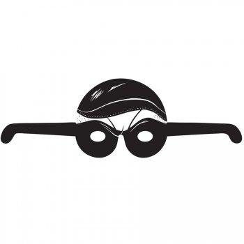 8 Masques Lunettes Policiers et Voleurs