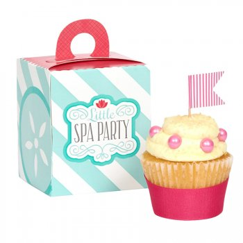 4 Boîtes à Cupcakes Little Spa Party