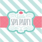 20 Serviettes Little Spa Party