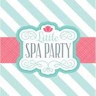 20 Serviettes Little Spa Party