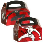 4 Boîtes Cadeaux Ninja Party
