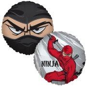 Ballon Mylar Ninja Party