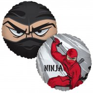 Ballon Mylar Ninja Party