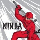 20 Serviettes Ninja Party
