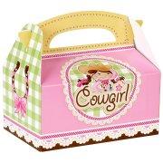 4 Boîtes Cadeaux Cowgirl Rosie