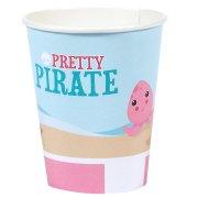 8 Gobelets Pretty Pirate