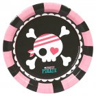 8 Petites Assiettes Pretty Pirate