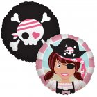 Ballon Mylar Pretty Pirate