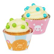 12 Wrappers � Cupcakes r�versibles Pretty Pirate
