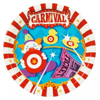 Boîte invité supplémentaire Carnaval Circus