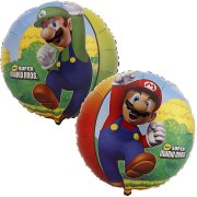 Ballon Mylar Super Mario Bros (Double face)