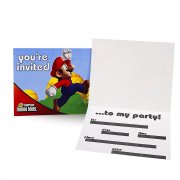 8 Invitations Super Mario Bros