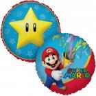 Ballon Mylar Super Mario Etoile