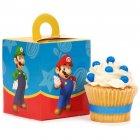4 Boîtes à Cupcakes Super Mario & Luigi