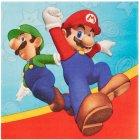 20 Serviettes Super Mario & Luigi