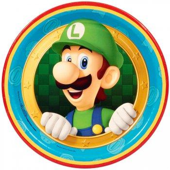 8 Petites Assiettes Super Mario & Luigi