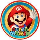 8 Assiettes Super Mario & Luigi