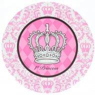 8 Assiettes 1st Princesse Élégance