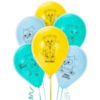 Contient : 1 x 6 Ballons Le Village de Dany