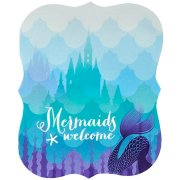 8 Invitations Sirène Mermaids