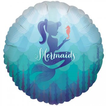 Ballon à Plat Sirène Mermaids