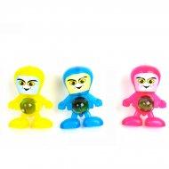 1 Figurine Robot Lance-Bille (5,5 cm)