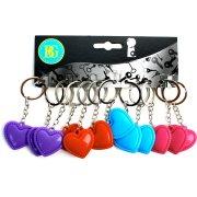 12 Porte-clés Coeur