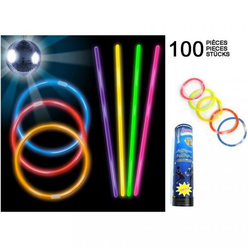 100 Bracelets Lumineux