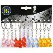 12 Porte-clés Oursons Crystal