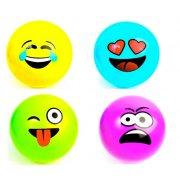 1 Ballon de Plage Emoji - 23 cm (A Gonfler)