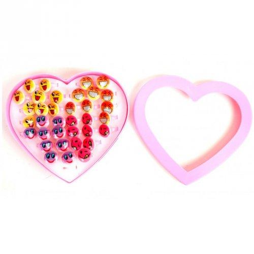 1 Bague Emoji Love