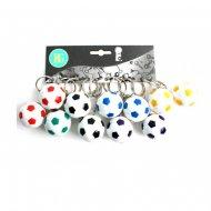 6 Porte-clés Ballon Foot