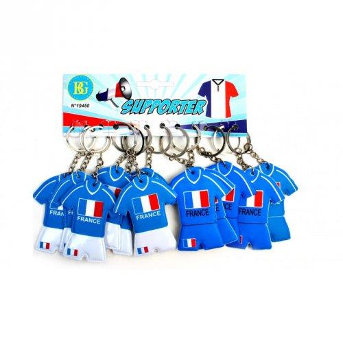 1 Porte clé Maillot Foot France