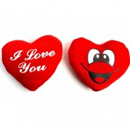 1 Peluche Coeur I love You (10 cm)
