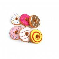 1 Donuts en Peluche (14 cm)