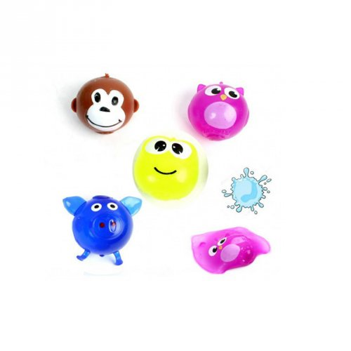 1 Balle Splatch Animal ou Smiley