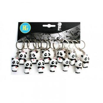 1 Porte-clé Panda 3D (3 cm) - Plastique