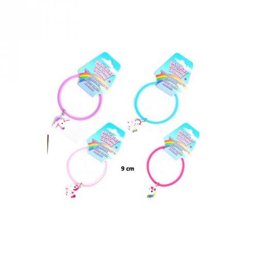 1 Bracelet Silicone Charm Licorne