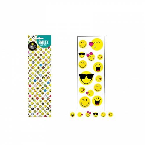 Planche de Stickers Smiley