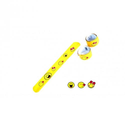1 Bracelet Slap Smiley