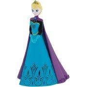 Figurine Elsa cape violette