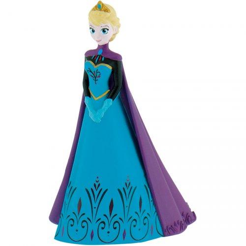 Figurine Elsa cape violette (Reine des Neiges) - Plastique