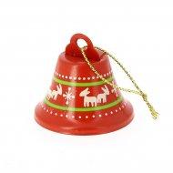 1 Suspensions Clochette de Noël (4 cm) - Métal
